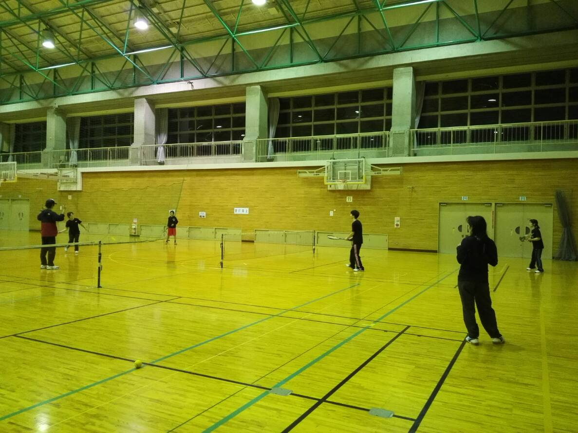 2018/11/12(月) スポンジテニス練習会 プラスワン ショートテニス 滋賀県 ソフトテニス