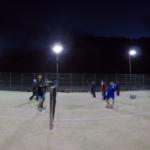 2018/10/31(水) ソフトテニス 夕方練習会 プラスワン