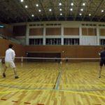 2018/11/26(月) ソフトテニス練習会 プラスワン