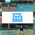 YouTube[すごプレ]ソフトテニス  2018年ランキング