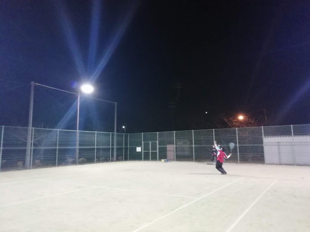 2018/12/01(土)夜間 ソフトテニス初級者練習会 プラスワン