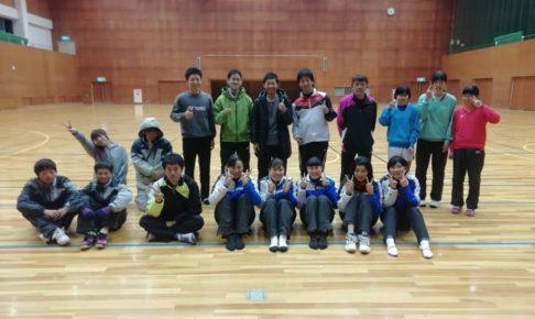 2018/12/24(月祝) ソフトテニス・プチ大会 プラスワン 滋賀県 近江八幡市