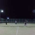 2018/12/26(水)夕方 ソフトテニス練習会 プラスワン