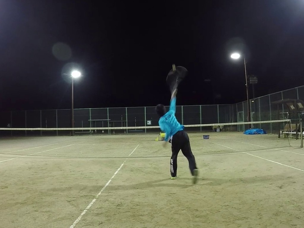 2018/11/29(木) ソフトテニス出張個人レッスン プラスワン