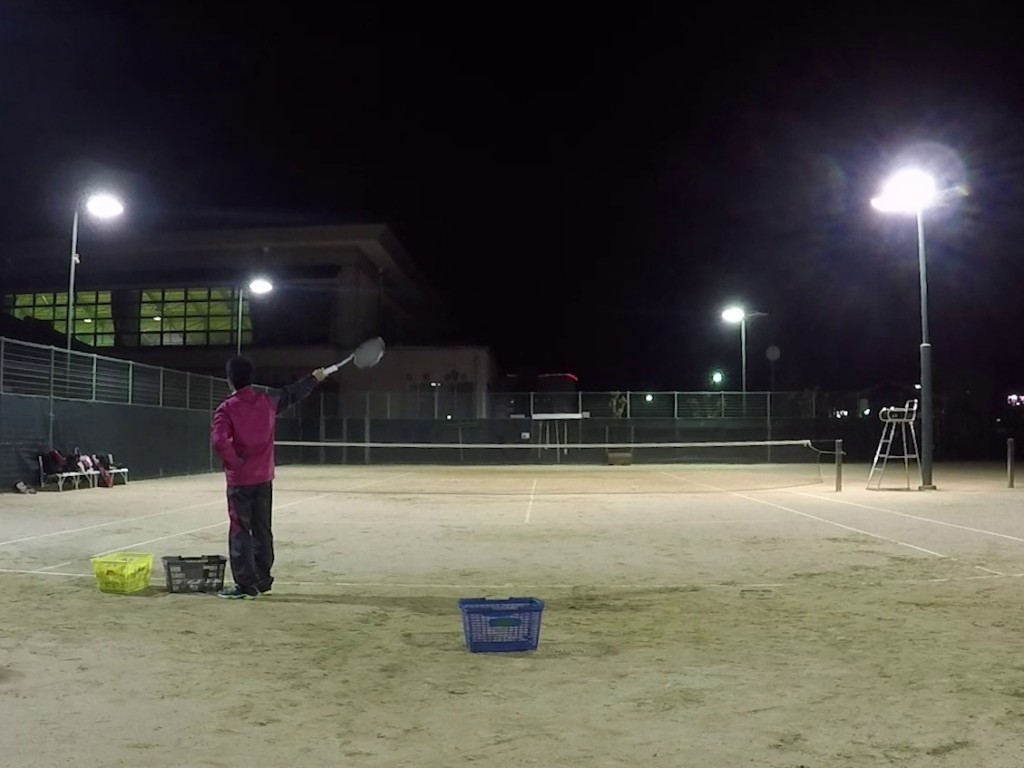 2018/12/03(月) ソフトテニス出張個人レッスン@近江八幡市 プラスワン