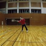 2019/01/05(土)ソフトテニス・初級練習会→個別練習会@近江八幡市