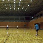 2019/01/23(水) ソフトテニス ゲームデー プラスワン
