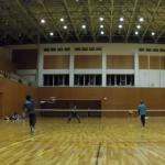 2019/01/29(火) ソフトテニス練習会 プラスワン