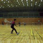 2019/01/28(月) ソフトテニス練習会@近江八幡市