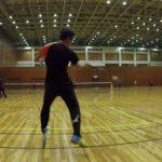 2019/02/12(火)ソフトテニス練習会@滋賀県近江八幡市