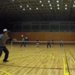 2019/03/11(月) ソフトテニス練習会@滋賀県近江八幡市