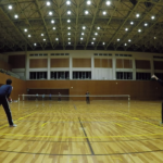 2019/03/25(月) ソフトテニス練習会@滋賀県近江八幡市