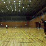 2019/04/15(月) ソフトテニス練習会@滋賀県近江八幡市