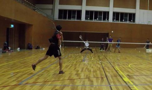 2019/04/22(月) ソフトテニス練習会@滋賀県近江八幡市