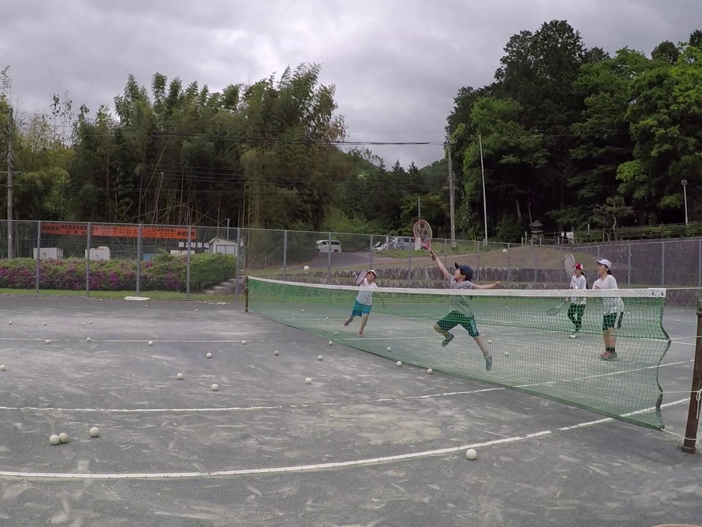2019/05/18(土) ソフトテニス・未経験者練習会@滋賀県東近江市